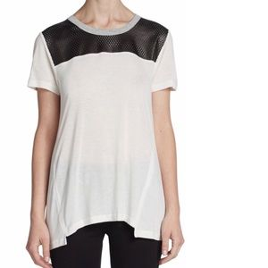 Aiko leather detail top